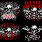 AVENGED SEVENFOLD shirt roughs