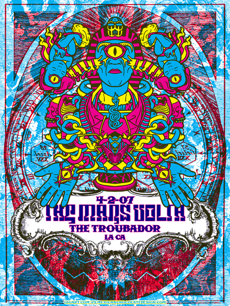 MARS VOLTA collab with GIGART