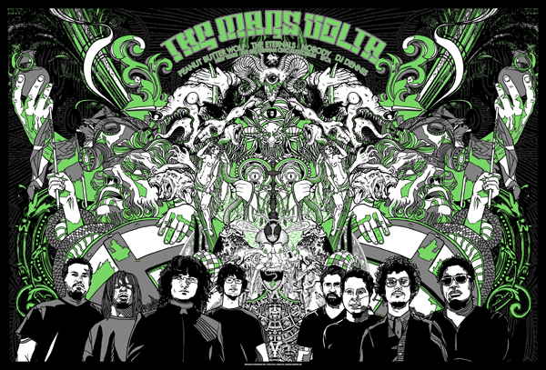 MARS VOLTA collab with TYLER STOUT, GIGART and MAZZA