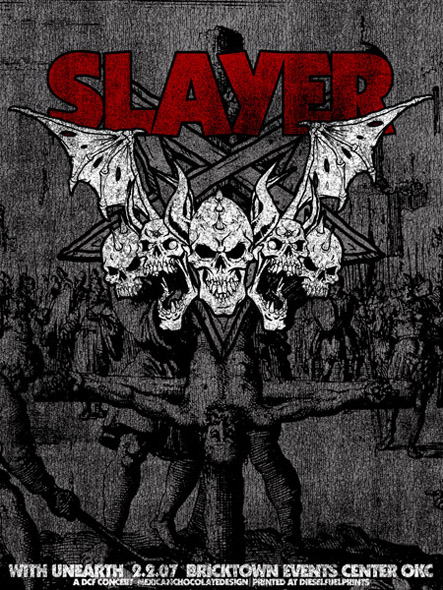 SLAYER collab with MAXFLO